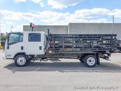 2020 LCF 4500 Crew Cab DRW 4x2,  Monroe Truck Equipment Versa-Line Stake Body Stake Bed #49790 - photo 5