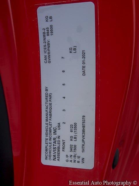 2021 Silverado 5500 Regular Cab DRW 4x4,  Knapheide Drop Side Dump Body #49875 - photo 26