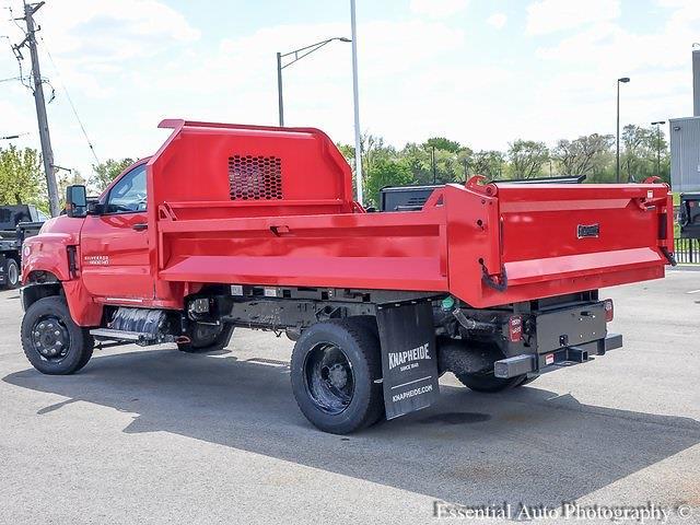 2021 Silverado 5500 Regular Cab DRW 4x4,  Knapheide Drop Side Dump Body #49875 - photo 5