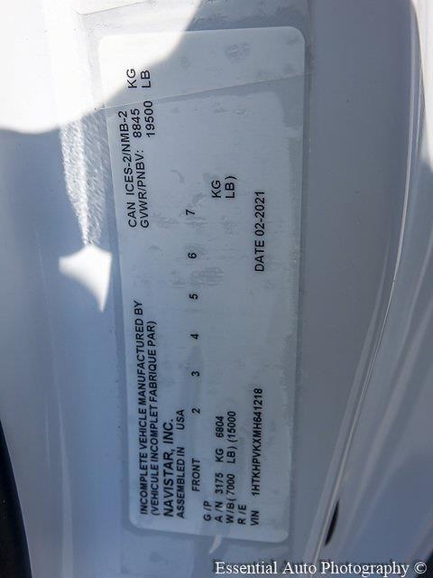 2021 Silverado 5500 Regular Cab DRW 4x2,  Knapheide Drop Side Dump Body #49922 - photo 22