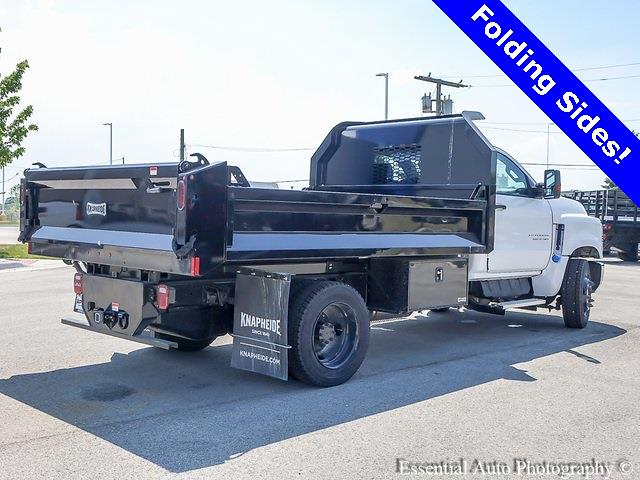 2021 Silverado 5500 Regular Cab DRW 4x2,  Knapheide Drop Side Dump Body #49922 - photo 3
