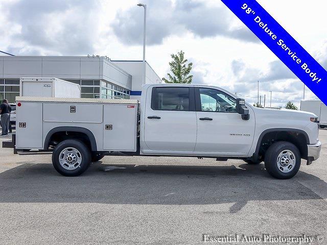 2021 Chevrolet Silverado 2500 Crew Cab 4x4, Monroe Service Body #49984 - photo 1