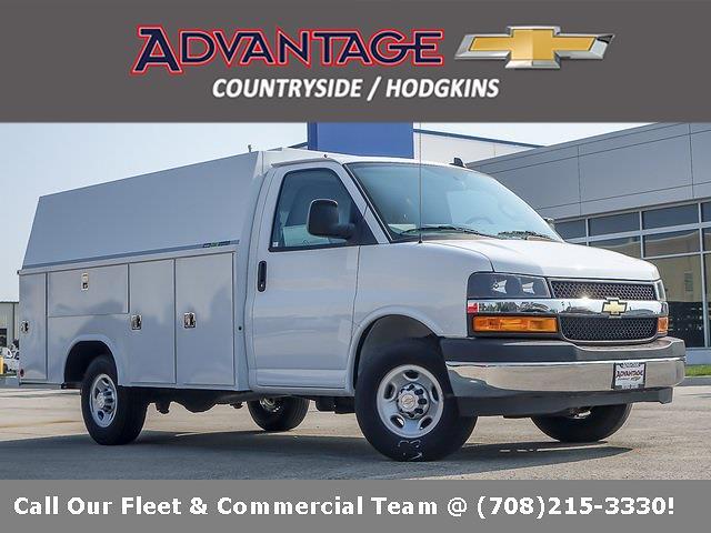 2021 Chevrolet Express 3500 4x2, Reading Service Utility Van #51031 - photo 1