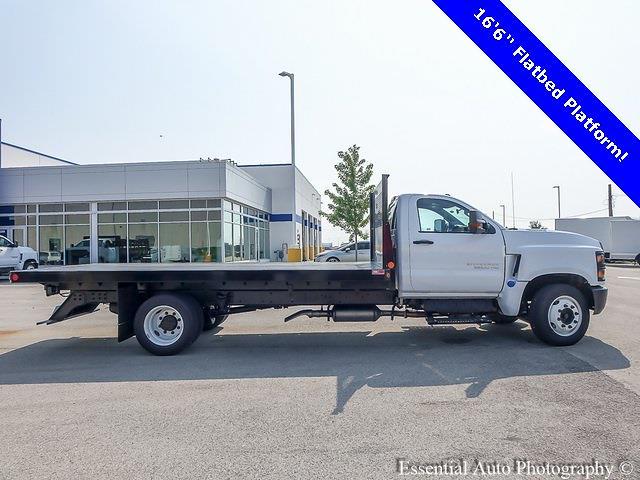 2021 Silverado 5500 Regular Cab DRW 4x2,  Monroe Truck Equipment Versa-Line Platform Body #51071 - photo 2