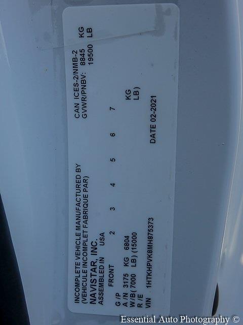 2021 Silverado 5500 Regular Cab DRW 4x2,  Monroe Truck Equipment Versa-Line Platform Body #51071 - photo 22