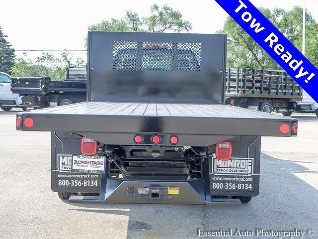 2021 Silverado 5500 Regular Cab DRW 4x2,  Monroe Truck Equipment Versa-Line Platform Body #51071 - photo 4