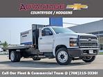 2021 Silverado 5500 Regular Cab DRW 4x2,  Monroe Truck Equipment Versa-Line Platform Body #51071 - photo 1