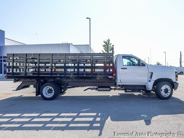 2021 Chevrolet Silverado 4500 Regular Cab DRW 4x2, Monroe Stake Bed #51099 - photo 1