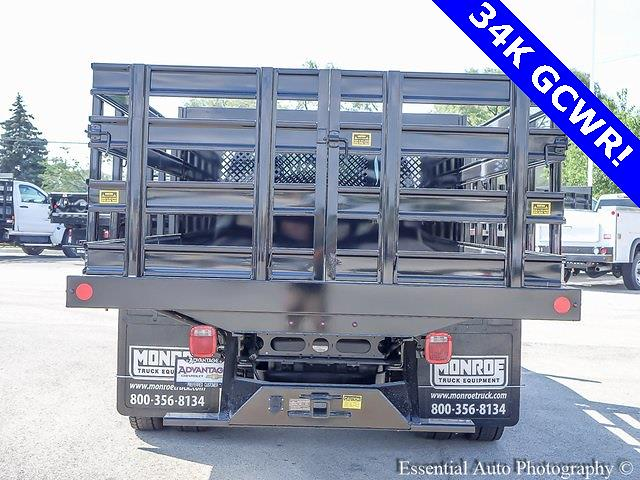 2021 Silverado 4500 Regular Cab DRW 4x2,  Monroe Truck Equipment Work-A-Hauler II Stake Bed #51126 - photo 4