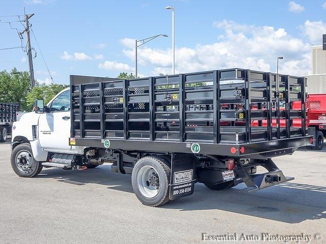 2021 Silverado 4500 Regular Cab DRW 4x2,  Monroe Truck Equipment Work-A-Hauler II Stake Bed #51126 - photo 5