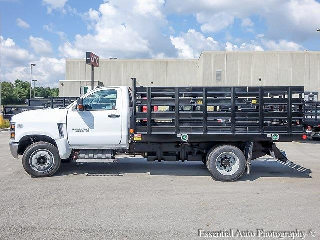 2021 Silverado 4500 Regular Cab DRW 4x2,  Monroe Truck Equipment Work-A-Hauler II Stake Bed #51126 - photo 6