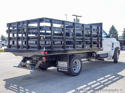 2021 Silverado 4500 Regular Cab DRW 4x2,  Monroe Truck Equipment Work-A-Hauler II Stake Bed #51126 - photo 2
