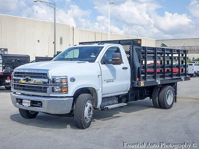 2021 Silverado 4500 Regular Cab DRW 4x2,  Monroe Truck Equipment Work-A-Hauler II Stake Bed #51126 - photo 7