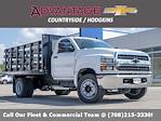2021 Silverado 4500 Regular Cab DRW 4x2,  Monroe Truck Equipment Work-A-Hauler II Stake Bed #51126 - photo 1