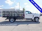 2021 Silverado 4500 Regular Cab DRW 4x2,  Monroe Truck Equipment Work-A-Hauler II Stake Bed #51126 - photo 3