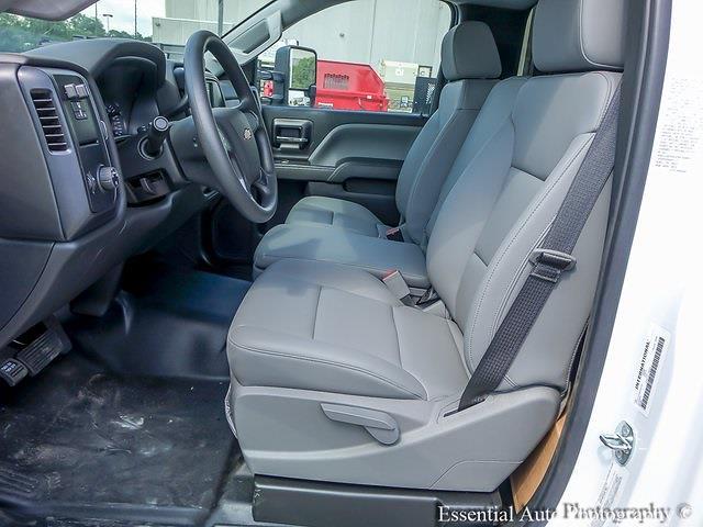 2021 Silverado 5500 Regular Cab DRW 4x2,  Monroe Truck Equipment Work-A-Hauler II Stake Bed #51127 - photo 10