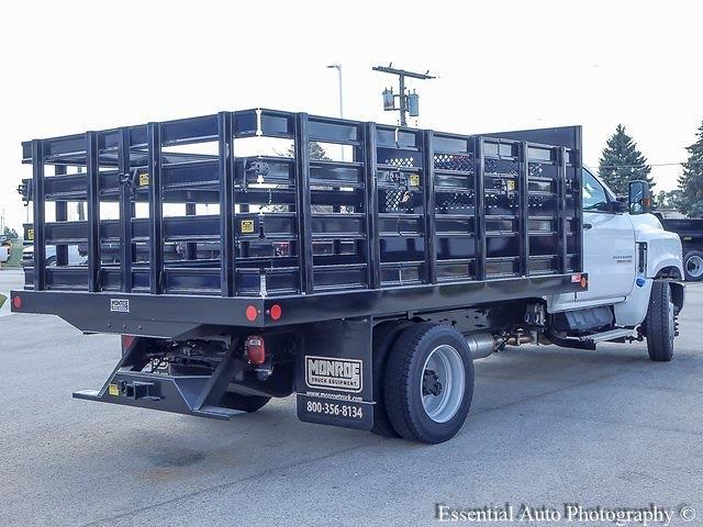 2021 Silverado 5500 Regular Cab DRW 4x2,  Monroe Truck Equipment Work-A-Hauler II Stake Bed #51127 - photo 23