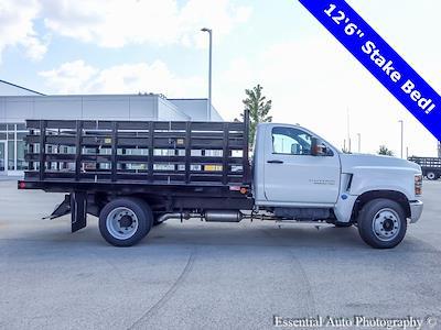 2021 Silverado 5500 Regular Cab DRW 4x2,  Monroe Truck Equipment Work-A-Hauler II Stake Bed #51127 - photo 2