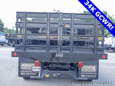 2021 Silverado 5500 Regular Cab DRW 4x2,  Monroe Truck Equipment Work-A-Hauler II Stake Bed #51127 - photo 3