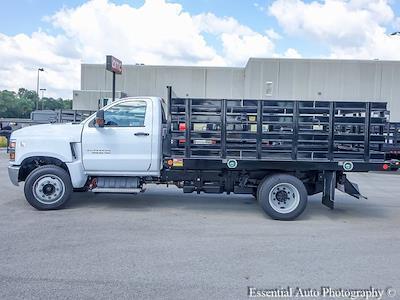 2021 Silverado 5500 Regular Cab DRW 4x2,  Monroe Truck Equipment Work-A-Hauler II Stake Bed #51127 - photo 5