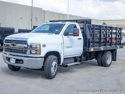 2021 Silverado 5500 Regular Cab DRW 4x2,  Monroe Truck Equipment Work-A-Hauler II Stake Bed #51127 - photo 6