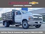 2021 Silverado 5500 Regular Cab DRW 4x2,  Monroe Truck Equipment Work-A-Hauler II Stake Bed #51127 - photo 1