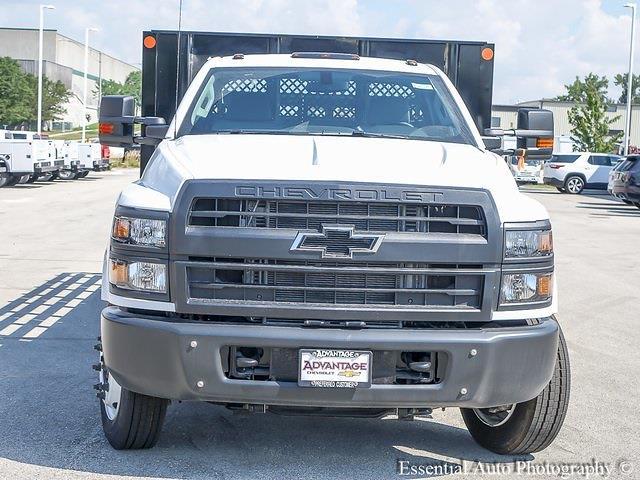 2021 Silverado 5500 Regular Cab DRW 4x2,  Monroe Truck Equipment Versa-Line Stake Body Stake Bed #51128 - photo 8