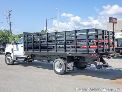 2021 Silverado 5500 Regular Cab DRW 4x2,  Monroe Truck Equipment Versa-Line Stake Body Stake Bed #51128 - photo 5