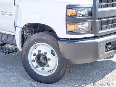 2021 Silverado 5500 Regular Cab DRW 4x2,  Monroe Truck Equipment Versa-Line Stake Body Stake Bed #51128 - photo 9