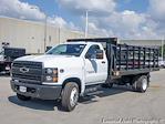 2021 Silverado 5500 Regular Cab DRW 4x2,  Monroe Truck Equipment Versa-Line Stake Body Stake Bed #51128 - photo 7
