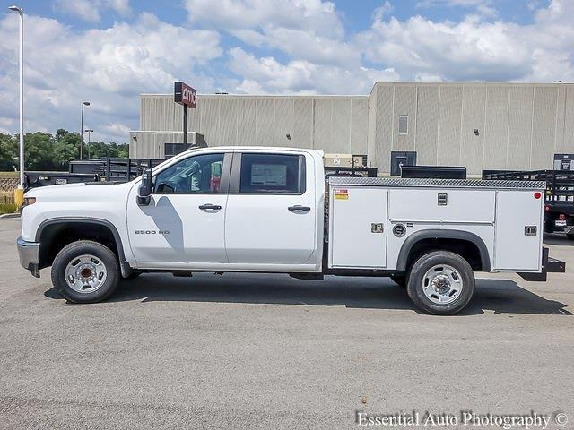 2021 Silverado 2500 Crew Cab 4x2,  Monroe Truck Equipment MSS II Service Body #51139 - photo 6