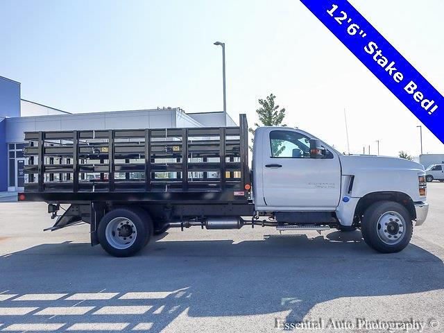 2021 Silverado 4500 Regular Cab DRW 4x2,  Monroe Truck Equipment Work-A-Hauler II Stake Bed #51141 - photo 3