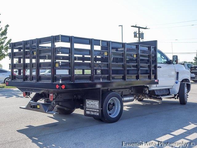 2021 Silverado 4500 Regular Cab DRW 4x2,  Monroe Truck Equipment Work-A-Hauler II Stake Bed #51141 - photo 2