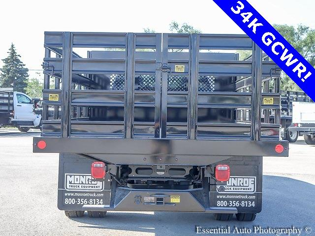 2021 Silverado 4500 Regular Cab DRW 4x2,  Monroe Truck Equipment Work-A-Hauler II Stake Bed #51141 - photo 4