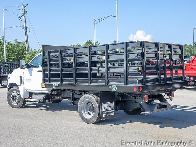 2021 Silverado 4500 Regular Cab DRW 4x2,  Monroe Truck Equipment Work-A-Hauler II Stake Bed #51141 - photo 5