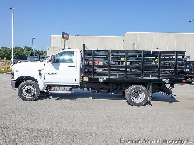 2021 Silverado 4500 Regular Cab DRW 4x2,  Monroe Truck Equipment Work-A-Hauler II Stake Bed #51141 - photo 6