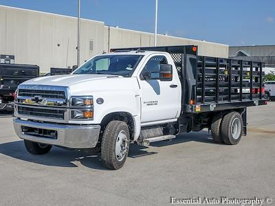 2021 Silverado 4500 Regular Cab DRW 4x2,  Monroe Truck Equipment Work-A-Hauler II Stake Bed #51141 - photo 7
