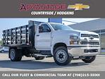 2021 Silverado 4500 Regular Cab DRW 4x2,  Monroe Truck Equipment Work-A-Hauler II Stake Bed #51141 - photo 1