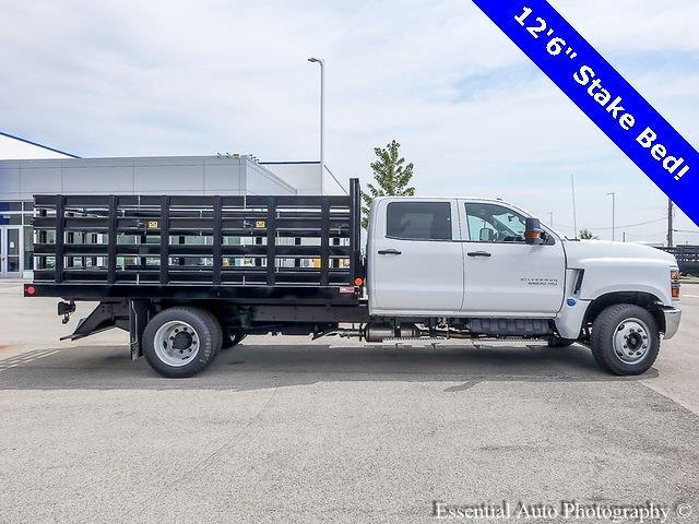 2021 Silverado 5500 Crew Cab DRW 4x2,  Monroe Truck Equipment Work-A-Hauler II Stake Bed #51155 - photo 2