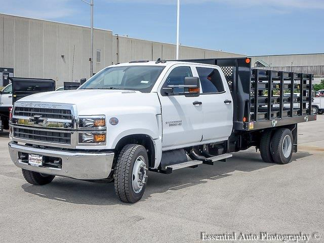 2021 Silverado 5500 Crew Cab DRW 4x2,  Monroe Truck Equipment Work-A-Hauler II Stake Bed #51155 - photo 7