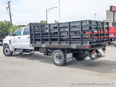 2021 Silverado 5500 Crew Cab DRW 4x2,  Monroe Truck Equipment Work-A-Hauler II Stake Bed #51155 - photo 5
