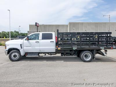 2021 Silverado 5500 Crew Cab DRW 4x2,  Monroe Truck Equipment Work-A-Hauler II Stake Bed #51155 - photo 6