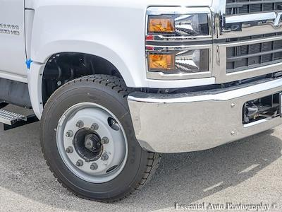 2021 Silverado 5500 Crew Cab DRW 4x2,  Monroe Truck Equipment Work-A-Hauler II Stake Bed #51155 - photo 9