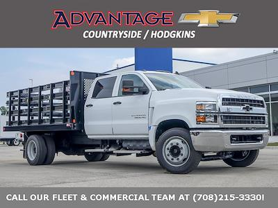 2021 Silverado 4500 Crew Cab DRW 4x2,  Monroe Truck Equipment AL Series Platform Body #51177 - photo 1