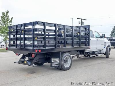 2021 Silverado 4500 Crew Cab DRW 4x2,  Monroe Truck Equipment AL Series Platform Body #51177 - photo 3