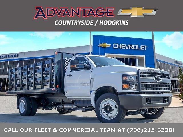 2021 Silverado 4500 Regular Cab DRW 4x2,  Monroe Truck Equipment Work-A-Hauler II Stake Bed #51183 - photo 1