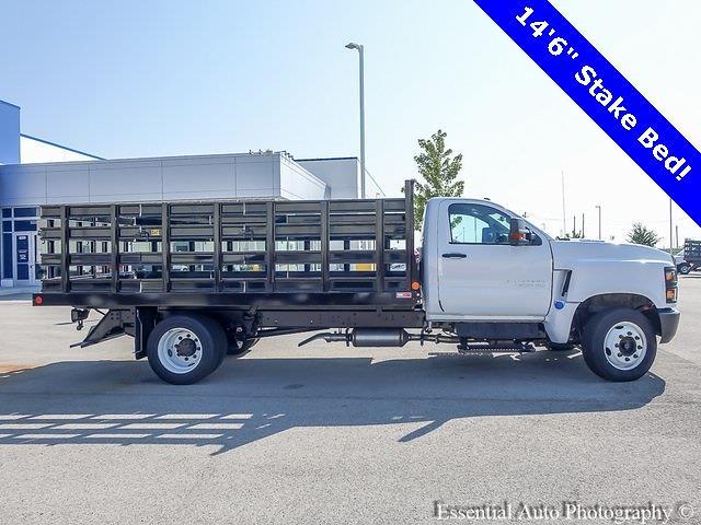 2021 Silverado 4500 Regular Cab DRW 4x2,  Monroe Truck Equipment Work-A-Hauler II Stake Bed #51183 - photo 2
