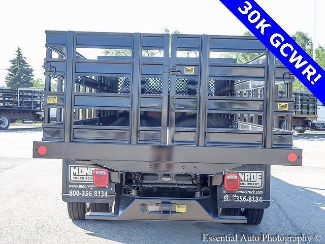 2021 Silverado 4500 Regular Cab DRW 4x2,  Monroe Truck Equipment Work-A-Hauler II Stake Bed #51183 - photo 3