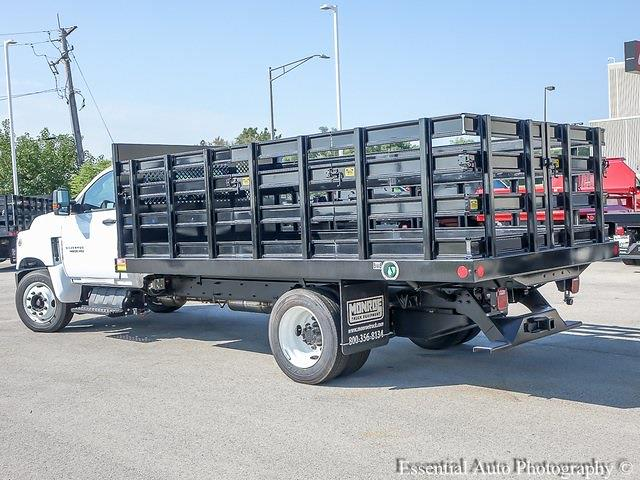 2021 Silverado 4500 Regular Cab DRW 4x2,  Monroe Truck Equipment Work-A-Hauler II Stake Bed #51183 - photo 4