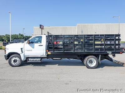2021 Silverado 4500 Regular Cab DRW 4x2,  Monroe Truck Equipment Work-A-Hauler II Stake Bed #51183 - photo 5